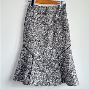 Maeve flora skirt by Anthropologie
